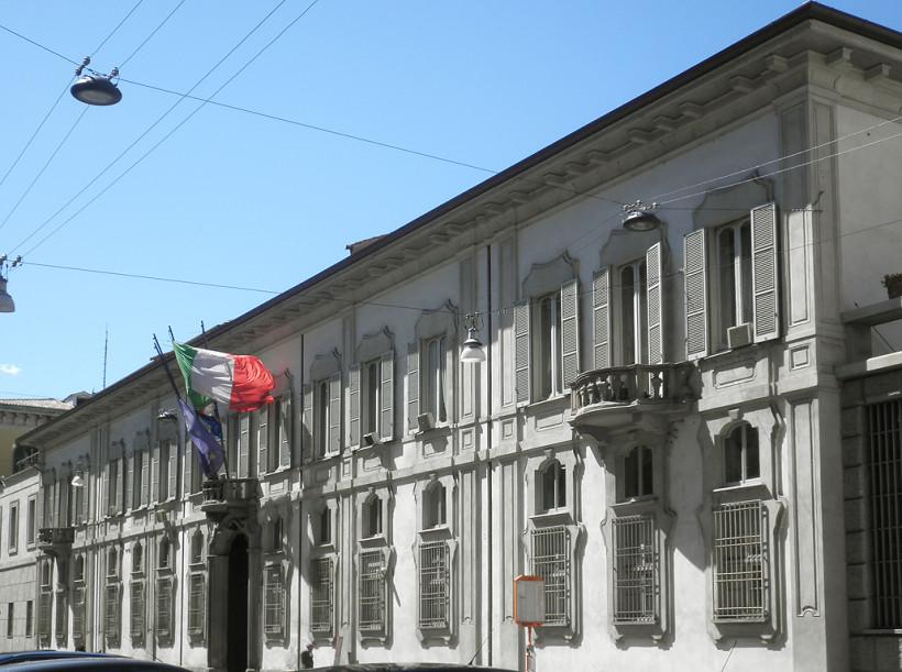 Palazzo Isimbardi - Sede della Provincia di Milano