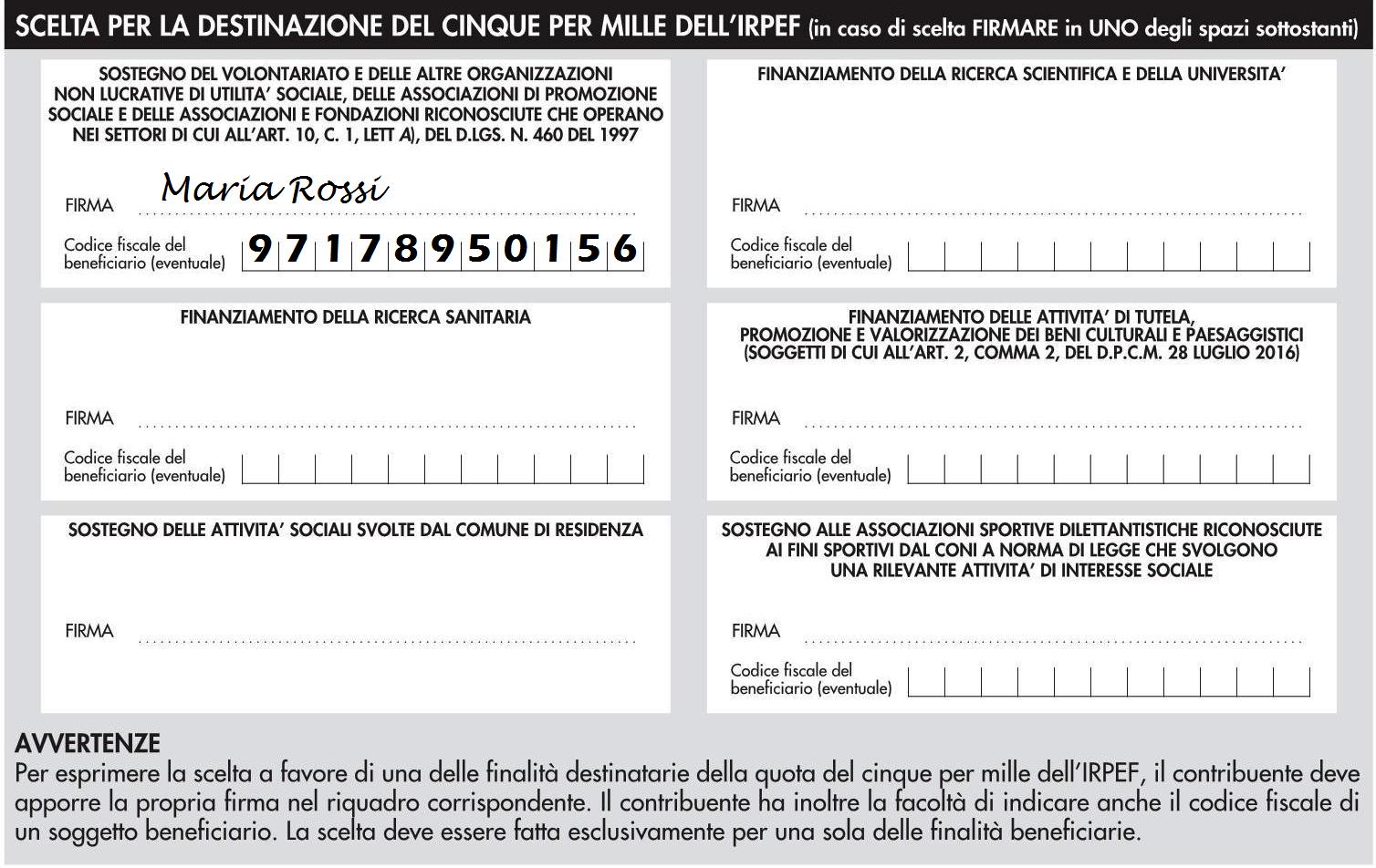 5x1000 alla Fondazione Roberto Franceschi Onlus