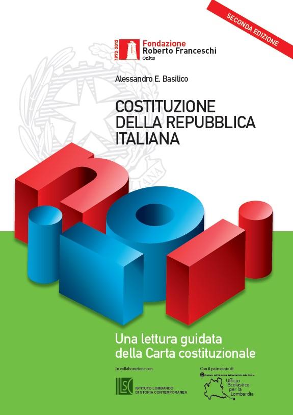 copertina della Costituzione commentata