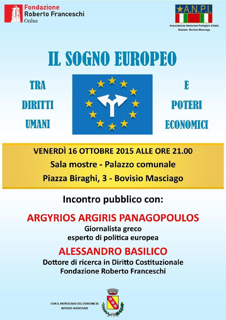 Il sogno europeo tra diritti umani e poteri economici
