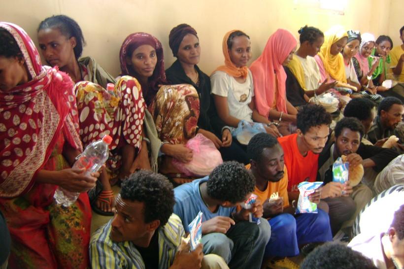 profughi in Sinai