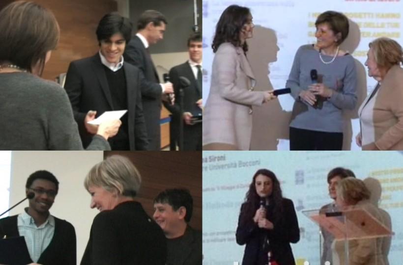 premiazione borsisti della Fondazione