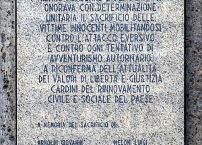46° anniversario della strage di piazza Fontana