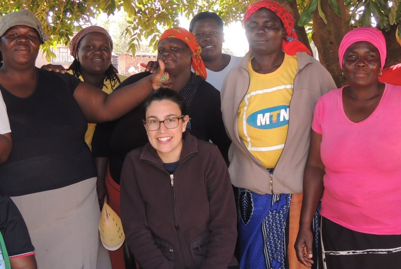 Susanna Parravicini in Sudafrica