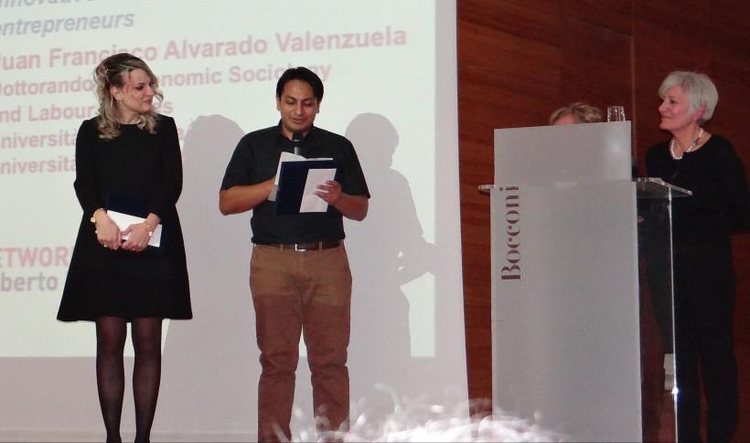 Alvarado e Ratti ricevono i fondi di ricerca Roberto Franceschi