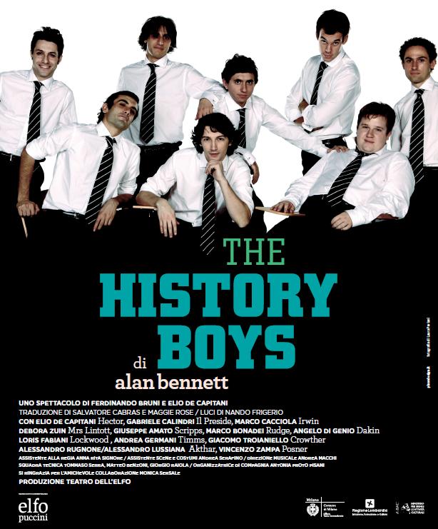 """Locandina dello spettacolo """"The History Boys"""""""