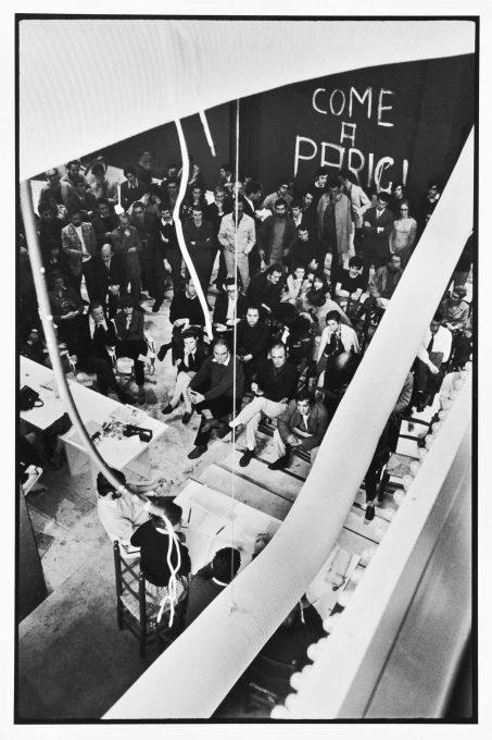 Enrico Cattaneo Milano 1967 - Occupazione della Triennale