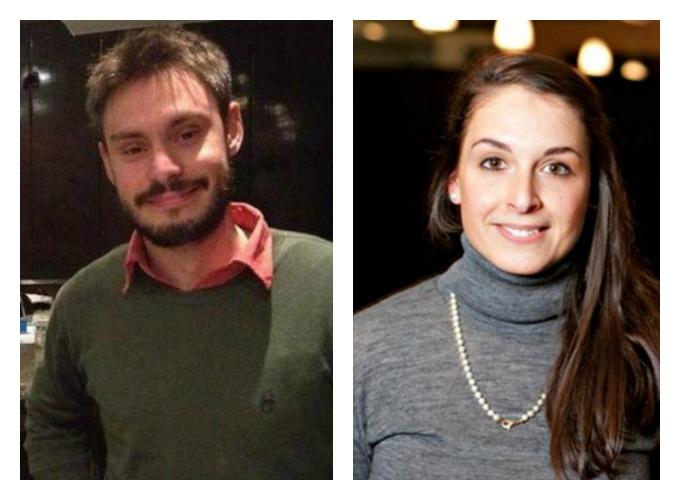 Giulio Regeni e Valeria Solesin