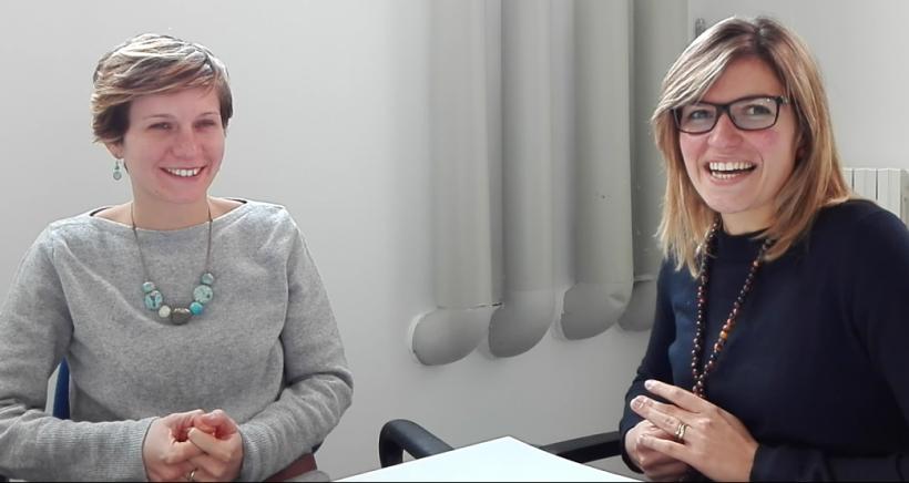 Valentina Rotondi e Chiara Falco del Network Roberto Franceschi
