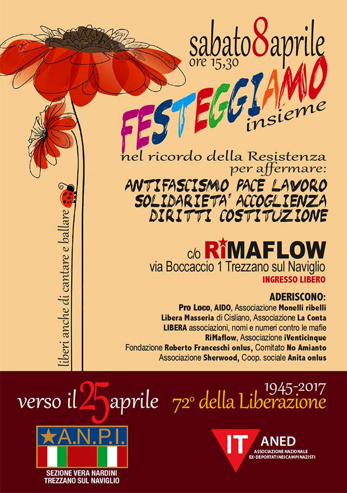 Verso il 25 aprile - festa 8 aprile 2017 RiMaflow