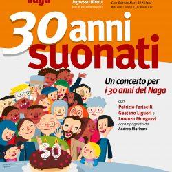 30 anni suonati – Un concerto per i 30 anni del Naga