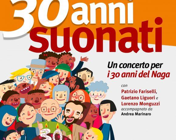 30 anni suonati concerto Naga