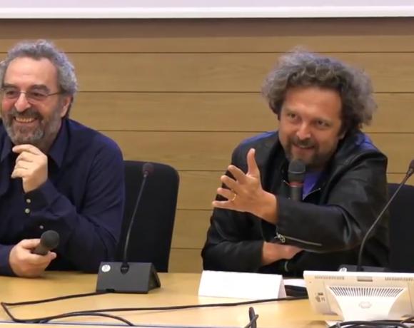 Giancarlo Bozzo e Antonio Ornano raccontano ai giovani come hanno trovato la loro strada