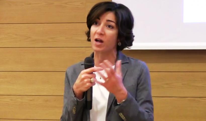Cristina Tajani Assessore al Lavoro del Comune di Milano
