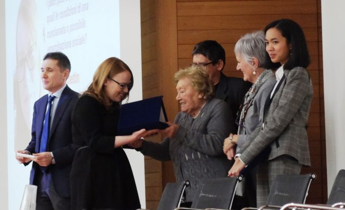 Premiazione fondi di ricerca Roberto Franceschi 23 gennaio 2017