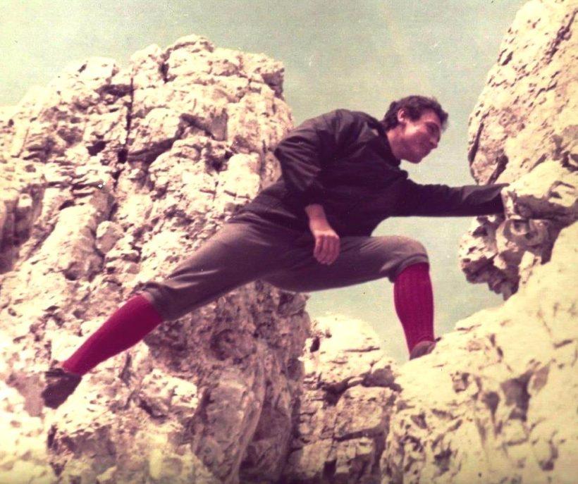 Roberto Franceschi in montagna