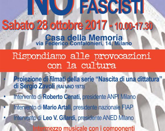 La cultura contro le provocazioni dei nuovi fascisti