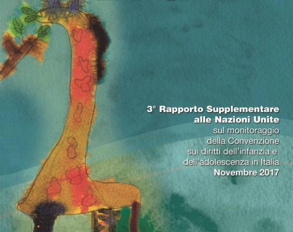 3° Rapporto Supplementare sui diritti dell'Infanzia e dell'adolescenza in Italia - gruppo CRC