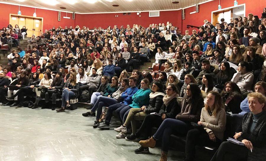 Studenti Gentileschi alla Lectio Magistralis