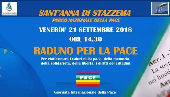 Raduno per la pace e i diritti 21 settembre Sant'Anna di Stazzema