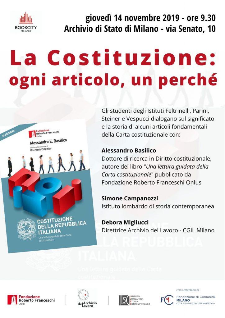 La Costituzione - Bookcity scuole
