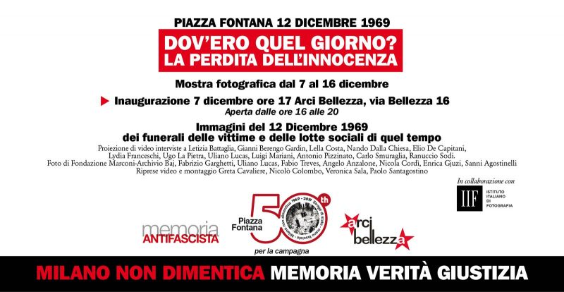Mostra Piazza Fontana