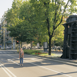 Dall'Ombra – Workshop di Patrizio Raso intorno al monumento a Roberto Franceschi: Azioni urbane e testimonianze disseminate in diretta su Zoom dal 26 al 28 agosto